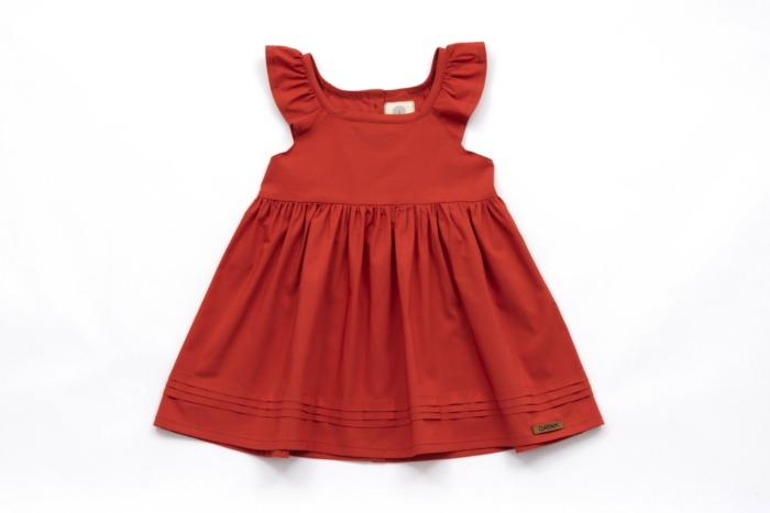 Kleid Lea rot DAYAN